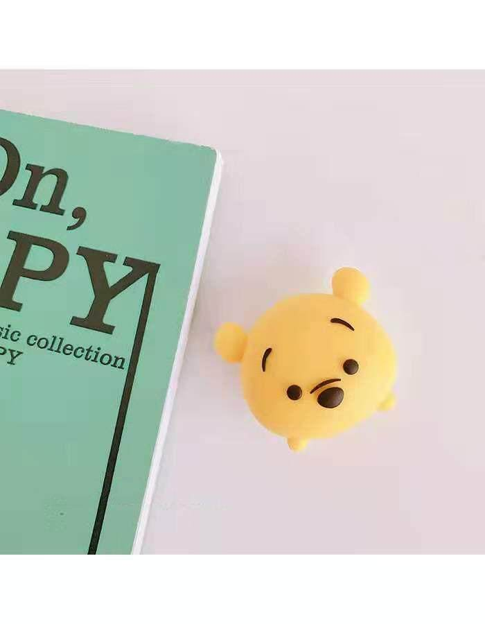 Cute Yellow Pig Cartoon Cable Bite Data Cable Protector