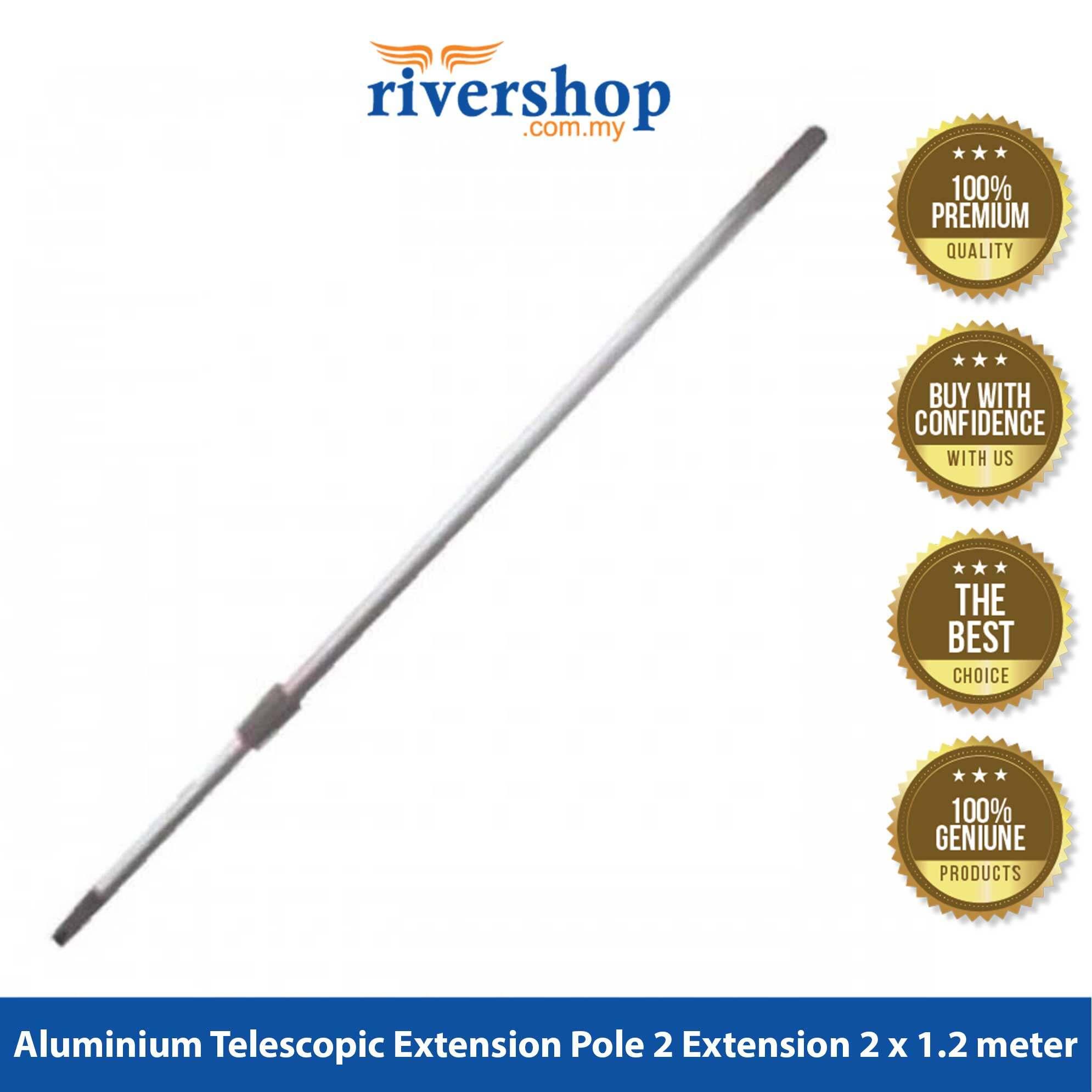 Rivershop 1.2meter Adjustable Aluminium Telescopic Extension Pole