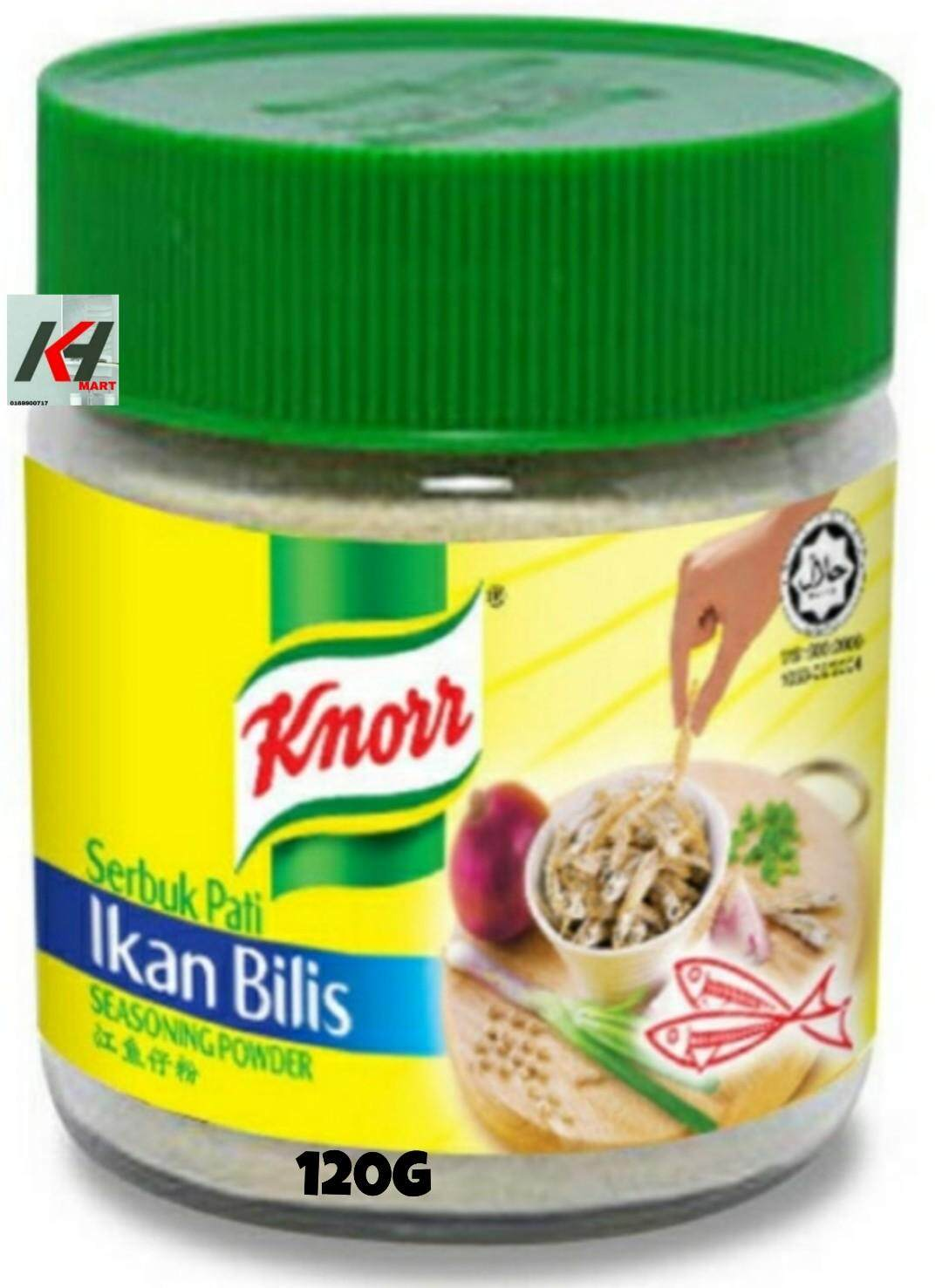 KNORR SEASONING POWDER IKAN BILIS 120G  READY STOCK