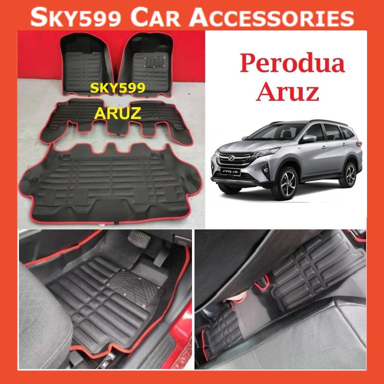 Perodua Aruz 2019-2020 5D Car Floor Mat/Carpet