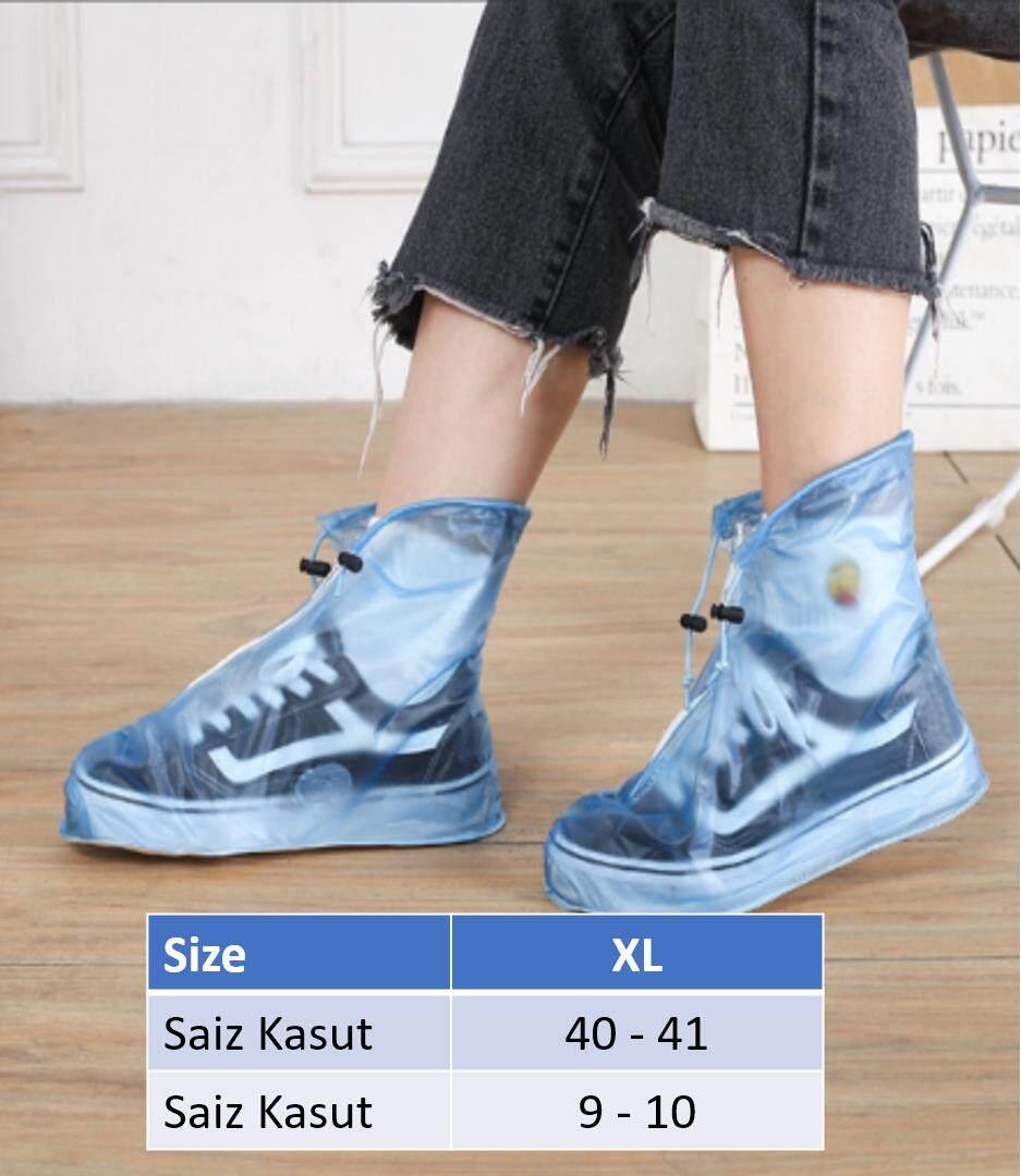 Unisex Water Proof Shoes Cover / Kasut Pelindung Dari Basah (above ankle)