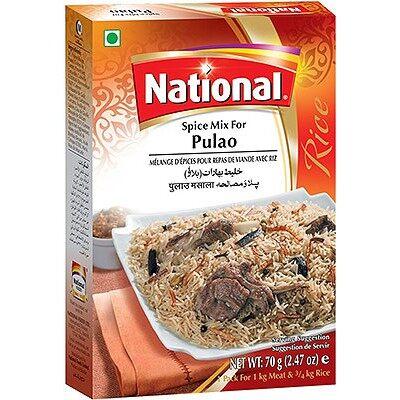NATIONAL PULAO BIRYANI MASALA 70 GM