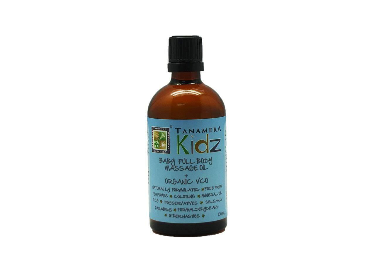 TANAMERA TN28-R002 KIDZ BABY FULL BODY MASSAGE OIL + ORGANIC VCO 100ML