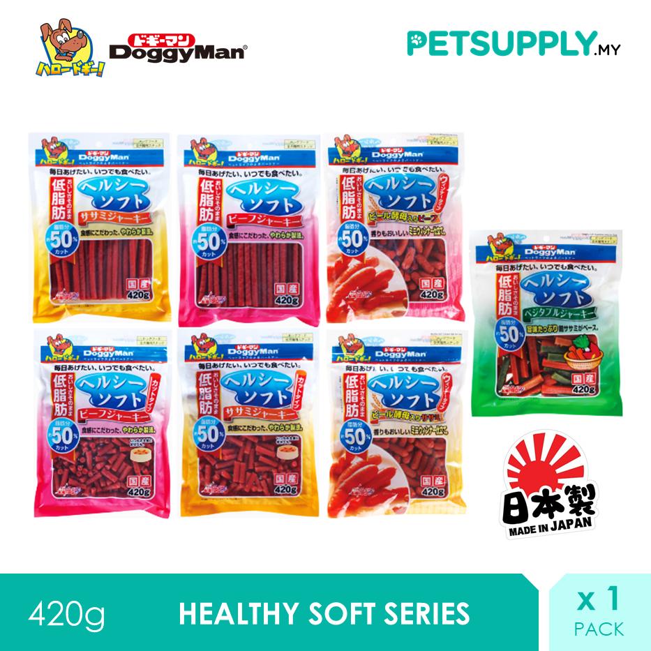 DoggyMan Healthy Soft Series Dog Treat Snack (420G) x 1 [PETSUPPLY.MY]