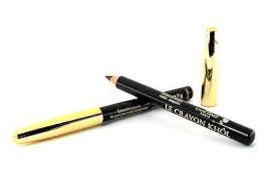 Lancome Le Crayon Khol Black Noir 01 Travel Size - Original from France (READY STOCK)