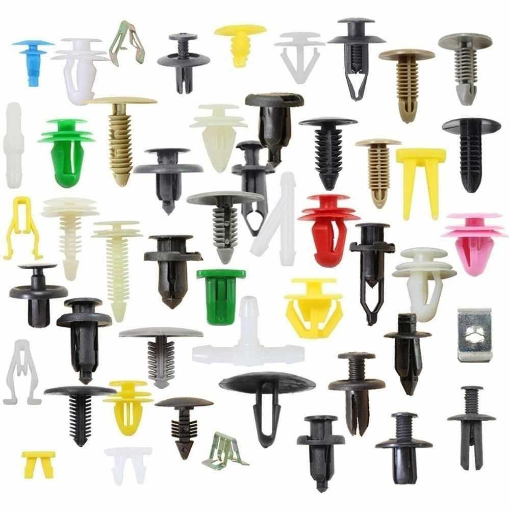 Best Selling Auto Fastener Kit Car Universal Nylon Fixing Clip Rivet for Car Door Panels Retainer Line (100)