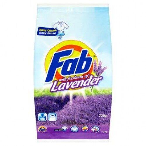 Fab With Freshness Of Lavender Powder Detergent 720g