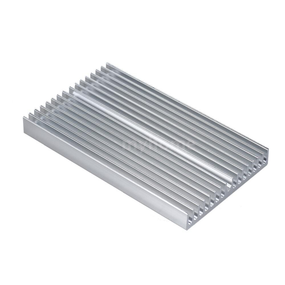 Printers & Projectors - Aluminum Alloy Heat Sink Module Cooler Radiator Silver Heatsink with 16 Fins for High Power - SILVER / GOLD / BLUE