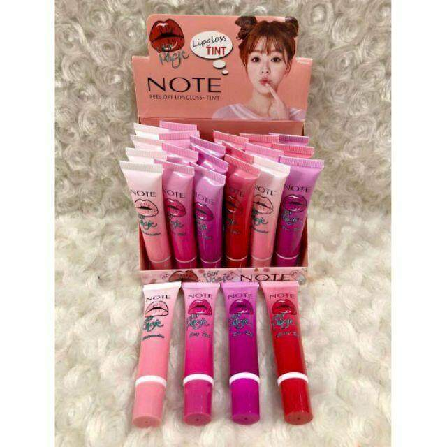 FREE GIFTNote Peel Off Lipgloss Tint