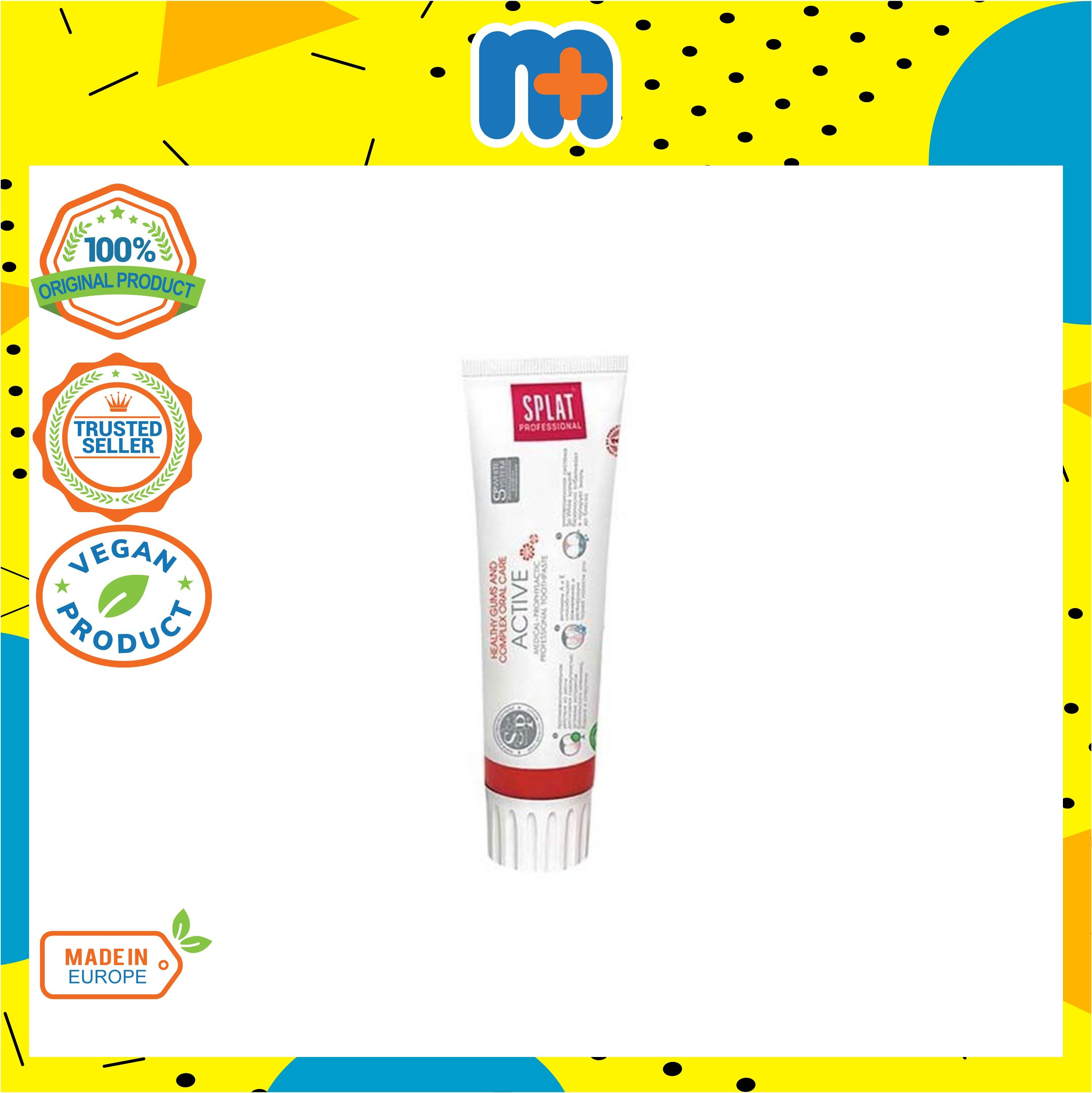 [MPLUS] SPLAT Active Professional Series Toothpaste 100ml