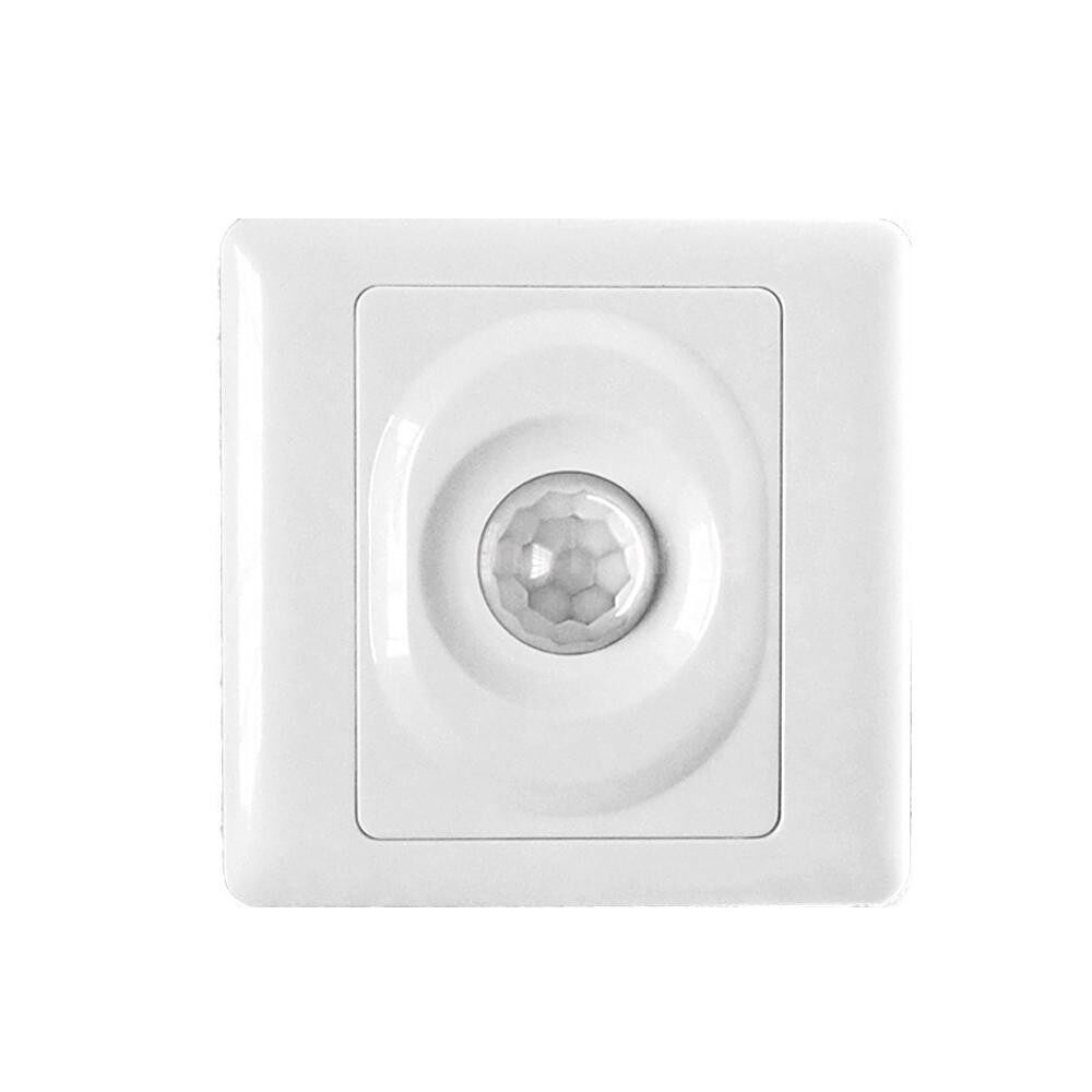 Lighting - Automatic Infrared PIR Body Motion Sensor Switch Wall-mounted LED Light Switch - Home & Living