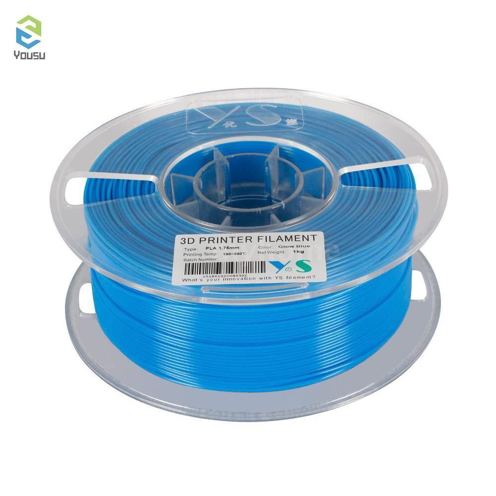 Printers & Projectors - 3D PLA Filament 1.75MM High Tenacity Glow in the Dark Filaments Printing Consmables for 3D - GLOW GREEN / GLOW BLUE