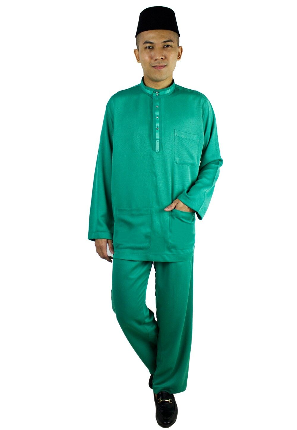 Baju Melayu Tradisional Black (80634NSL)