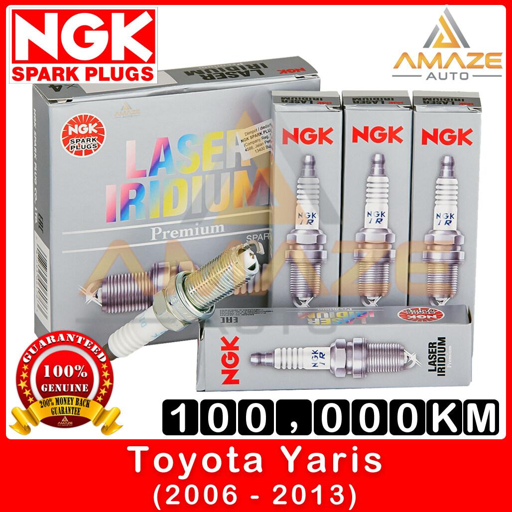 NGK Laser Iridium Spark Plug for Toyota Yaris 1.5 (2006-2013) - Long Life Spark Plug 100,000KM [Amaze Autoparts]