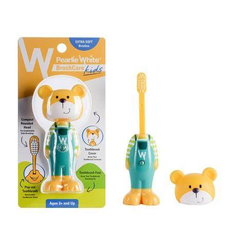 PEARL WHITE BOUNCE-UP KIDS TOOTHBRUSH (BEAR)