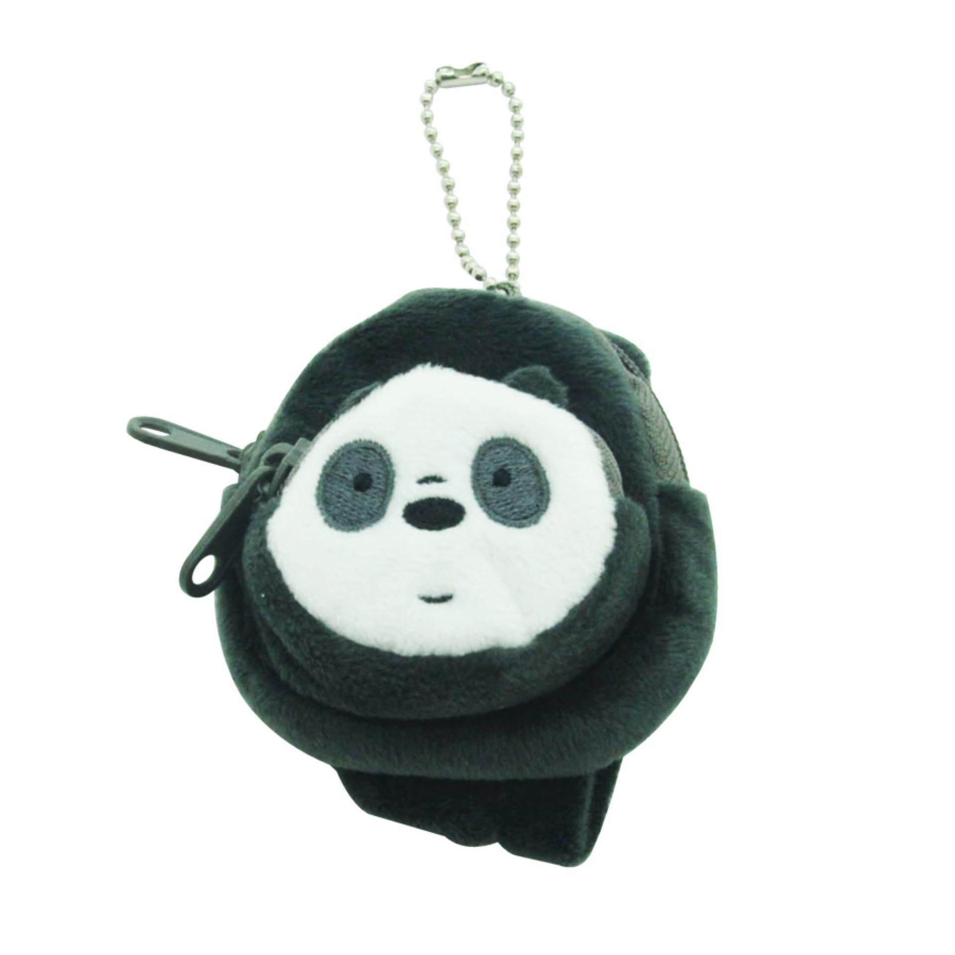 We Bare Bears Mini Backpack Keyring - Panda