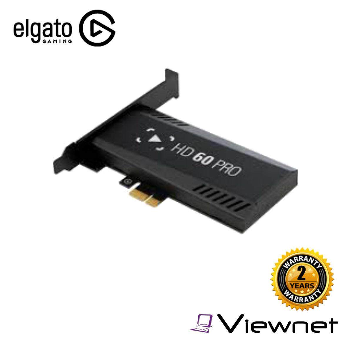 Elgato PCIE HD60 PRO High Definition Game Recorder Capture Card (1GC109901002)