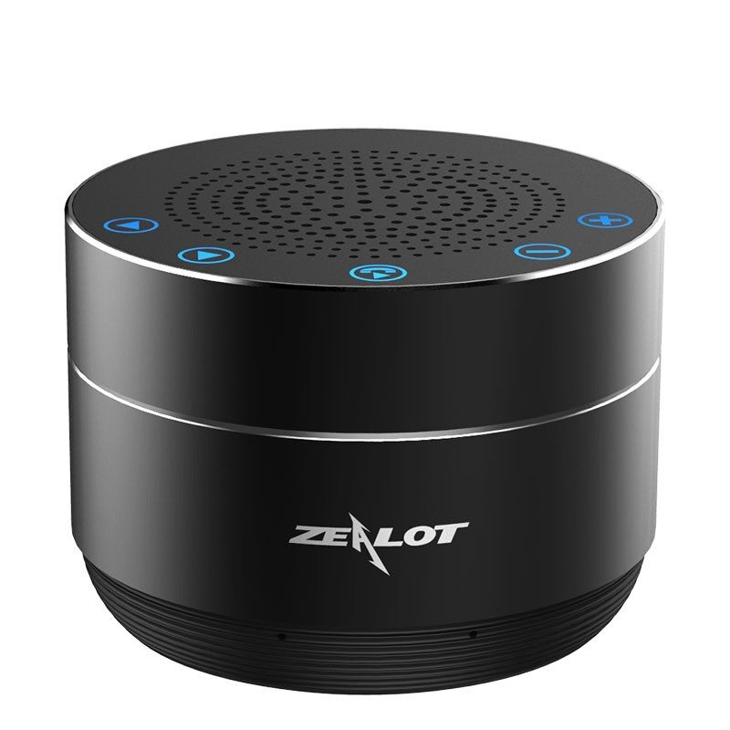 On-Ear Headphones - Zealot S19 PORTABLE BLUETOOTH Speaker Touch Control Heavy Bass Stereo Subwoofer - GREY / SILVER / GOLD / BLUE / RED / BLACK