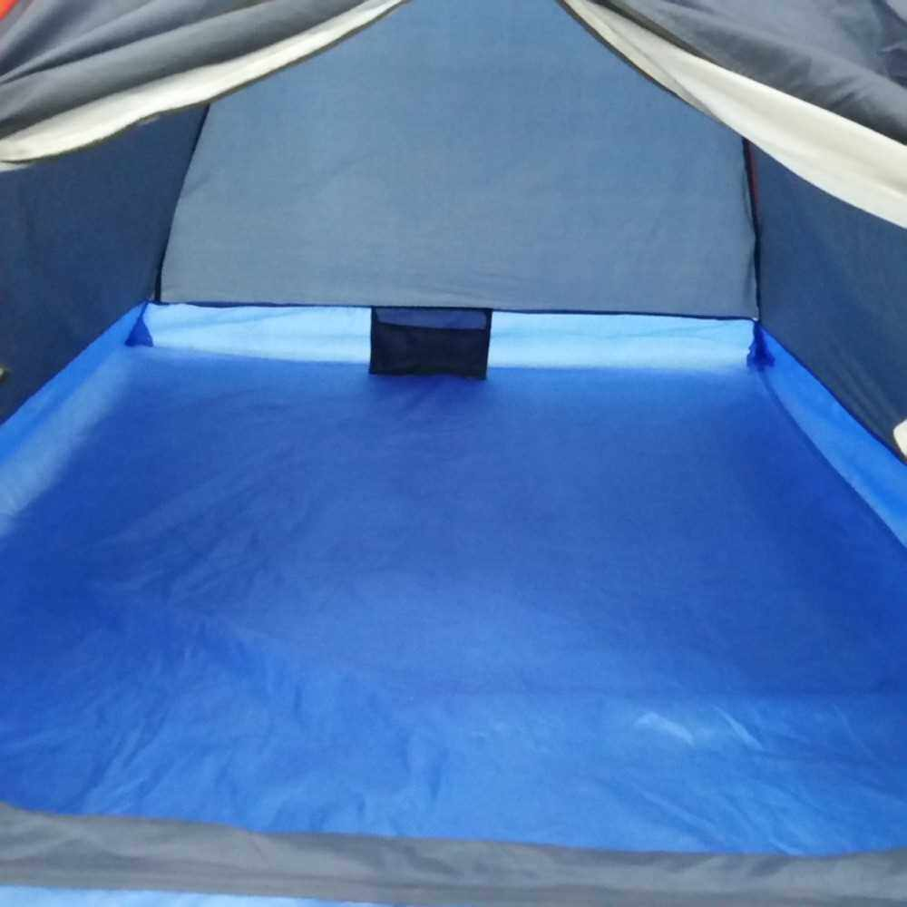 2 People Outdoor Travel Camping Tent with Bag (Blue)