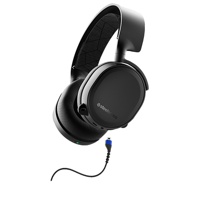 Steelseries Wireless /Wired Gaming Headset Arctis 3 Bluetooth ( 2019 Edition )