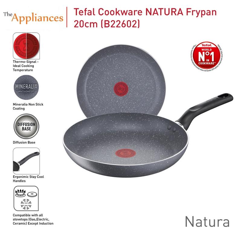 Tefal Natura Frypan (20cm/24cm/28cm)