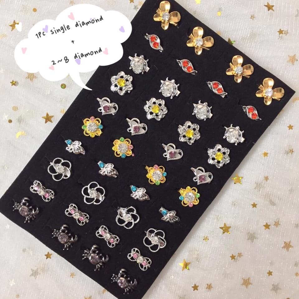40PCS BABY BROOCH / KERONGSANG RANDOM MIX 4003