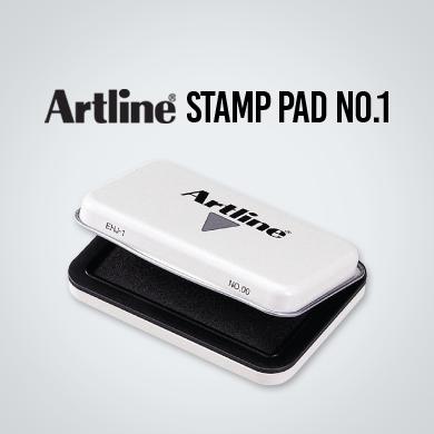 Artline Stamp Pad No.1 (67x106mm) - (EHJ-3) Black