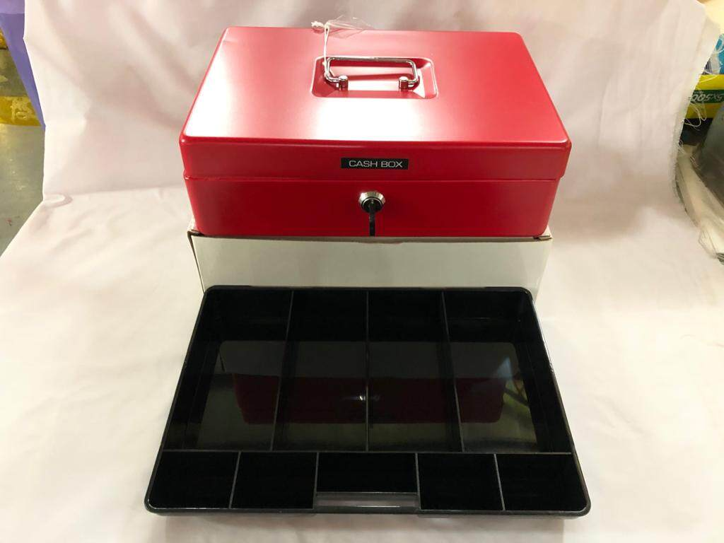 HATA 330 CASH BOX 31x22x9.5cm x 1unit