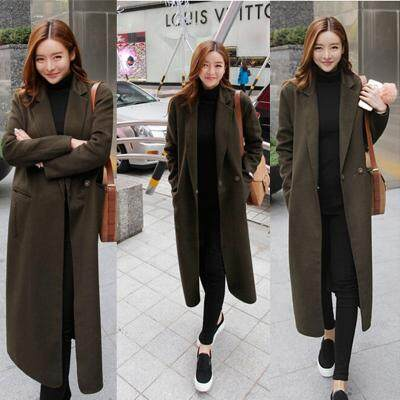 (Pre Order14 Days JYS Fashion Korean Style Women Winter CoatCollection522-8502col522-8502--Green -XS