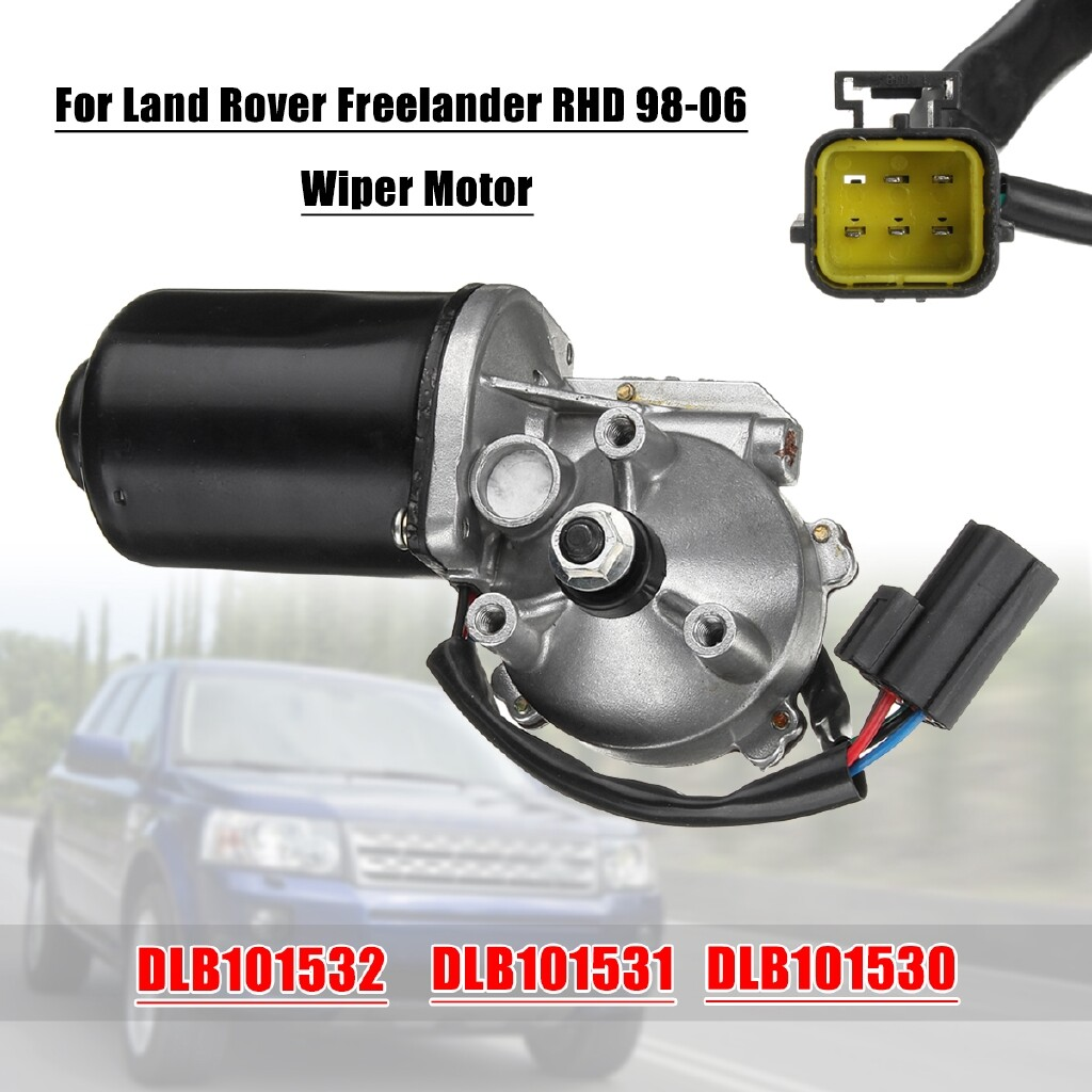Windscreen Wipers & Windows - Windshield Wiper Motor Front For Land Rover Freelander RHD 1998-2006 DLB101532 - Car Replacement Parts