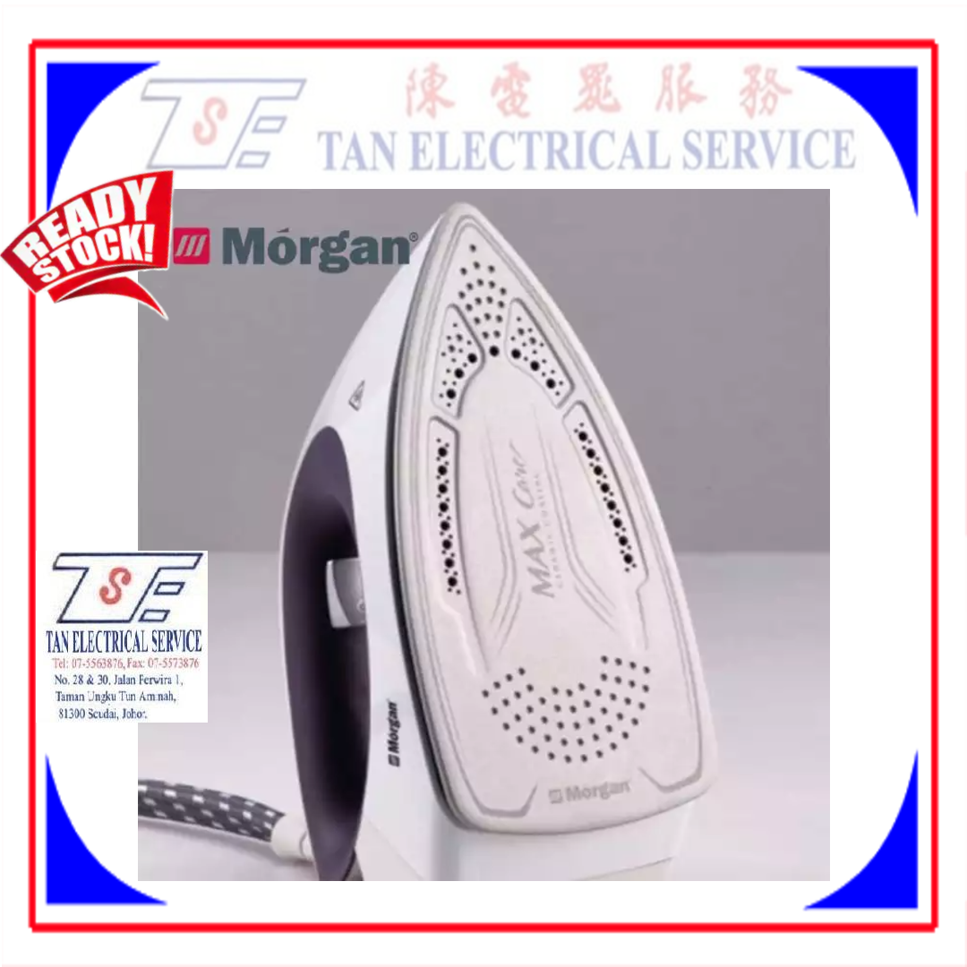 Morgan Steam Generator Iron MSG-27 MAXIcare (2400W) 100g Continuous Steam