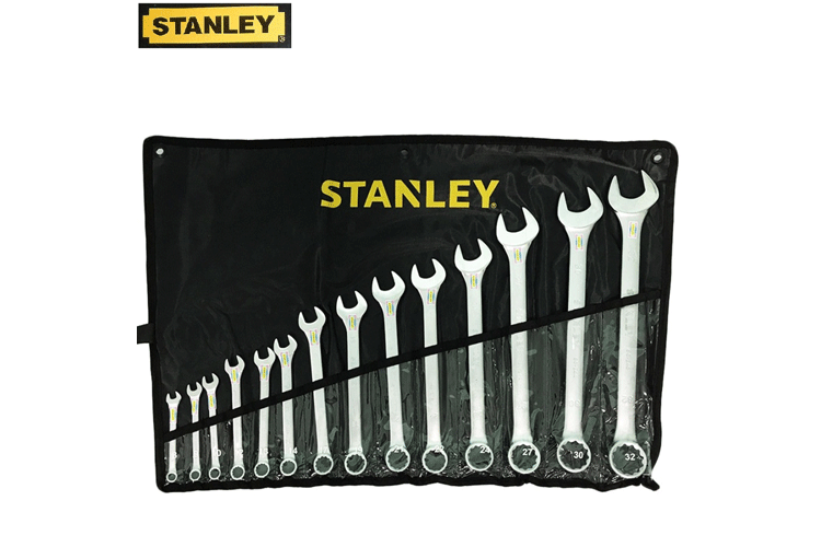 STANLEY Original 14 Pcs Carbon Steel Combination Wrench Set (80-944) STMT80944-8