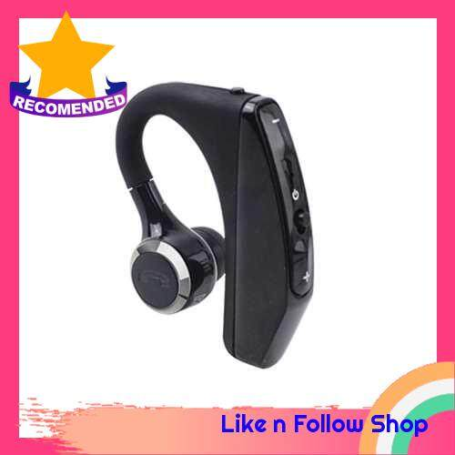PT520S BT Wireless Earphone BT5.0 Business Headset Handsfree Call BT Headphone Driving Sports Earbud With Mic 1pc (Black)
