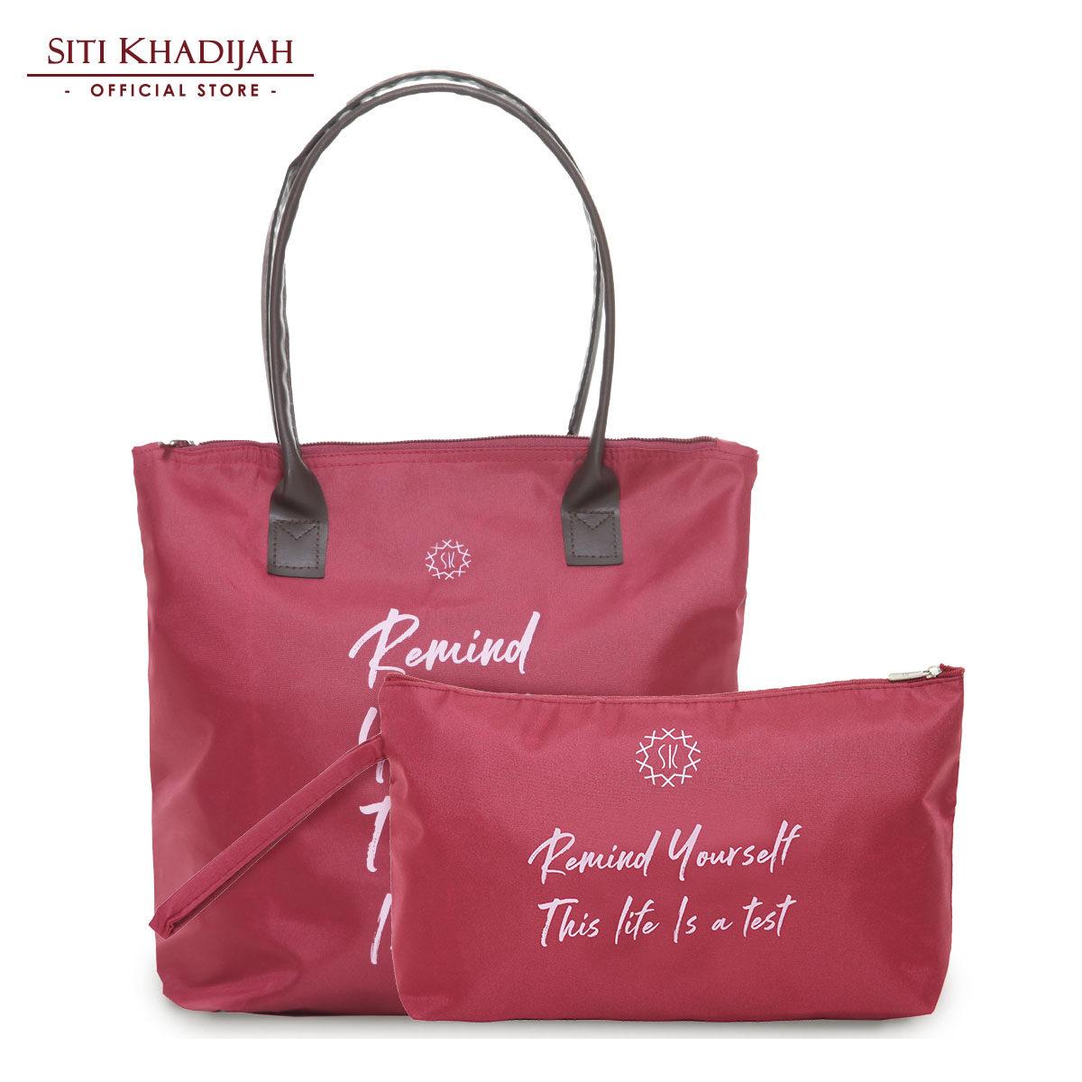 Siti Khadijah Tote Bag Remind + Pouch Bag Remind