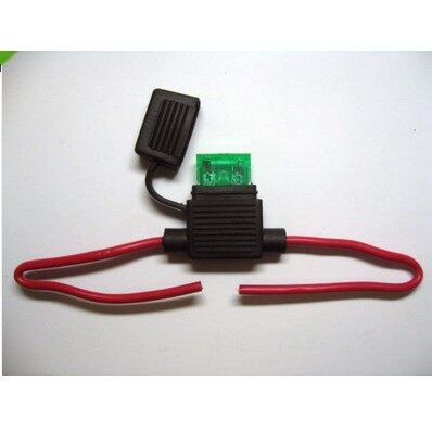 Tyres & Wheels - Amp Fuses Circuit Back Blade In line Fuse Holder_Ma - 10A / 15A / 20A / 30A