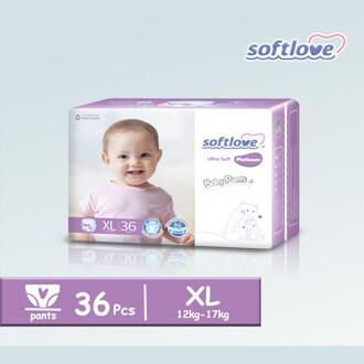 SoftLove Platinum Baby Pants / XL size - 36pcs