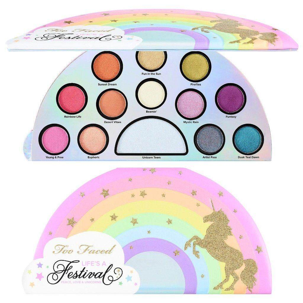 FREE GIFTTOO FACED Life's a Festival Eye Shadow Palette