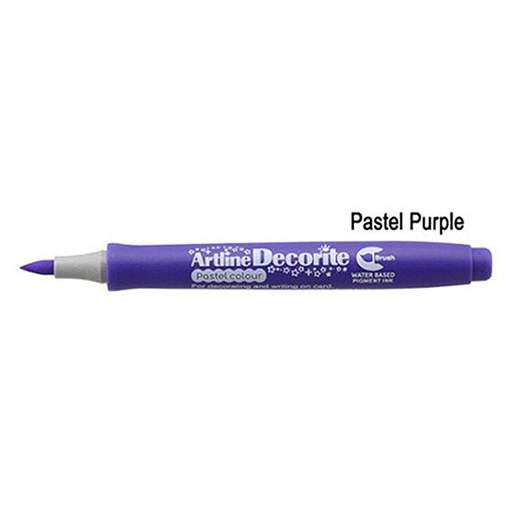 Artline Decorite Brush (EDF-F)  (EDFM-F) Pastel Purple