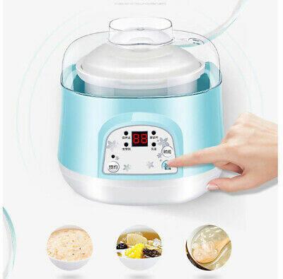 READY STOCKMulti Function Electric Ceramic Mini Stew Pot Ceramic Slow Cooker
