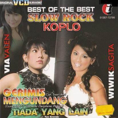 Best Of The Best Slow Rock Koplo VCD Karaoke