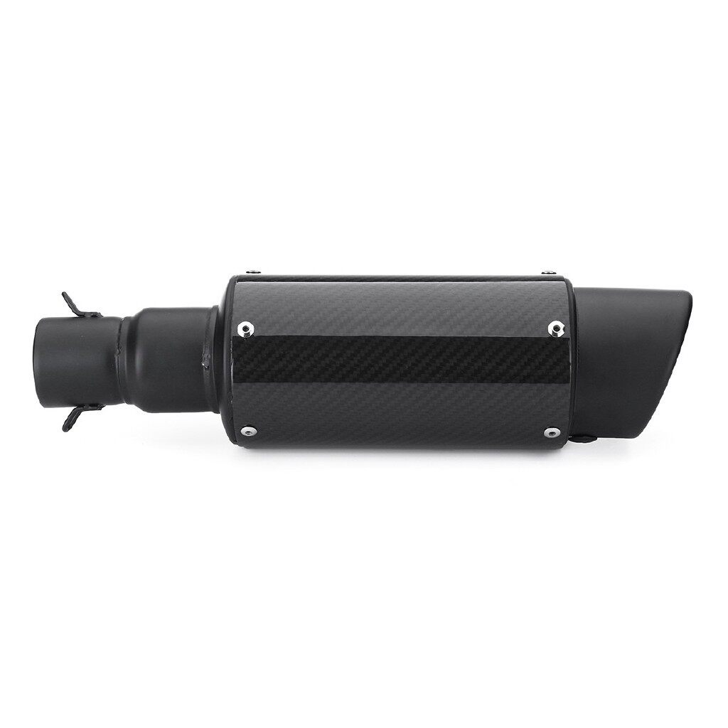 Moto Accessories - 38-51mm Universal Carbon Fiber Exhaust Muffler Pipe Silencer Slip On Motorcycle - Motorcycles, Parts