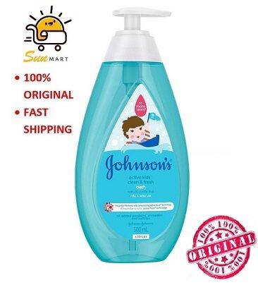 Johnson's Active Kids Clean & Fresh bath 500ml