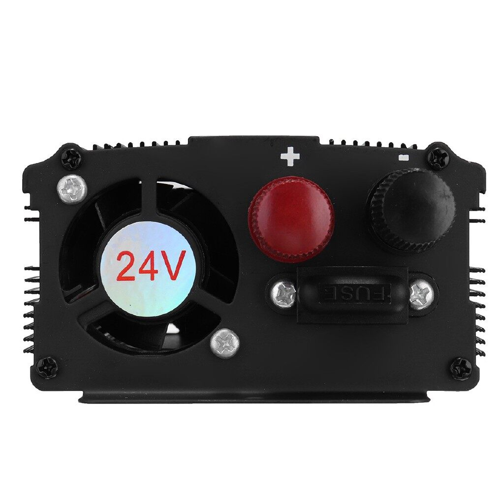 Motorcycles, Parts & Accessories - Solar Power Inverter 3000W DC12/24V To AC220V Modified Sine Wave Converter - 24V-220V / 24V- / 12V-220V / 12V