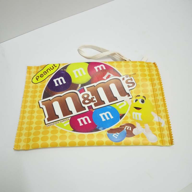 M&M's PEANUT Rubber Foam Design Bag