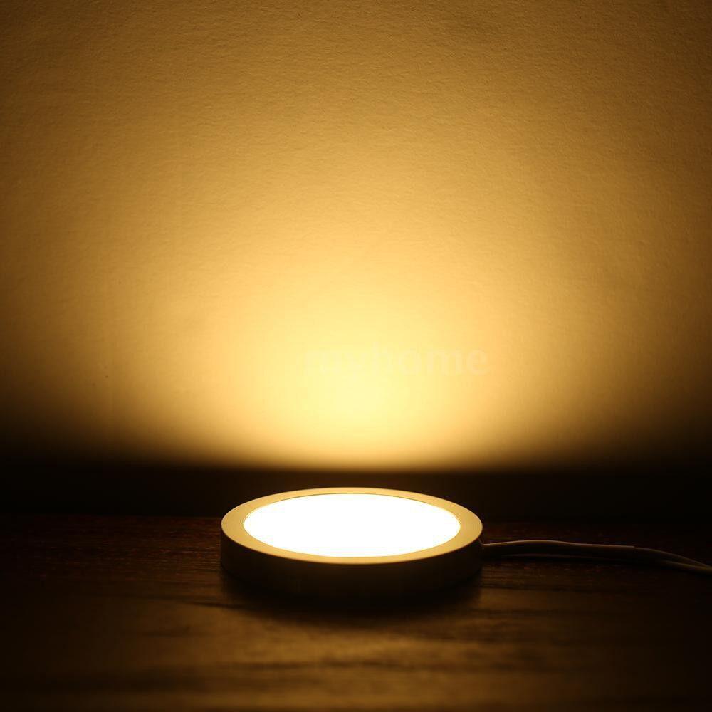 Lighting - AC100-240V DC 12V 10W Round Shape Under Cabinet Light Lamp Color-changing Dimmable Brightness - WHITE & TYPE 1 / WARM WHITE & TYPE 1 / WHITE & TYPE 2 / WARM WHITE & TYPE 2