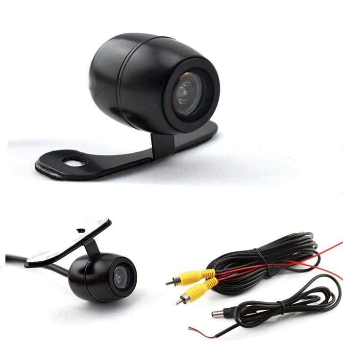 2 in 1 Car Rear Forward Back View CCD 170 Degrees Backup Side Front Parking Reverse Camera