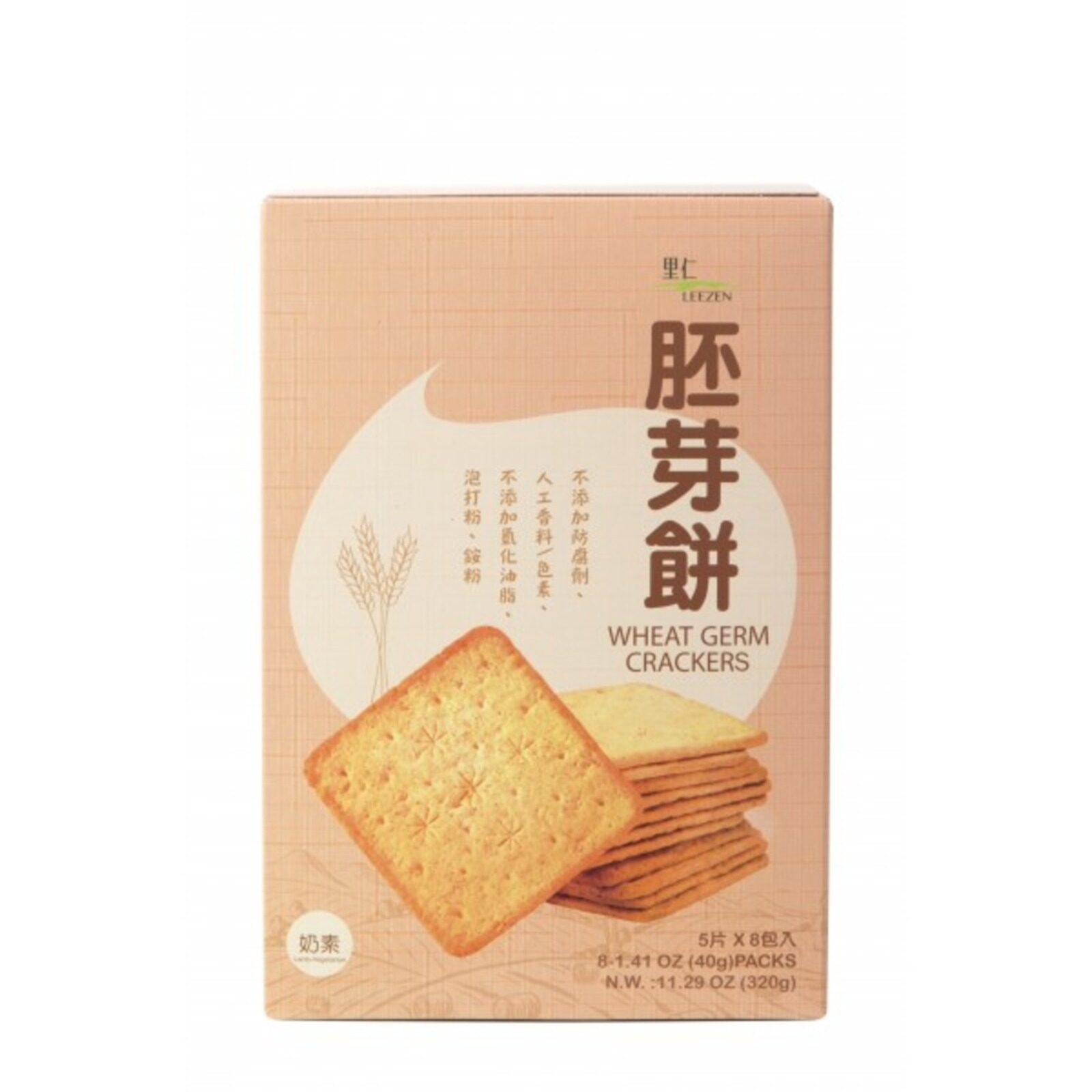 Leezen Wheat Germ Crackers 320G