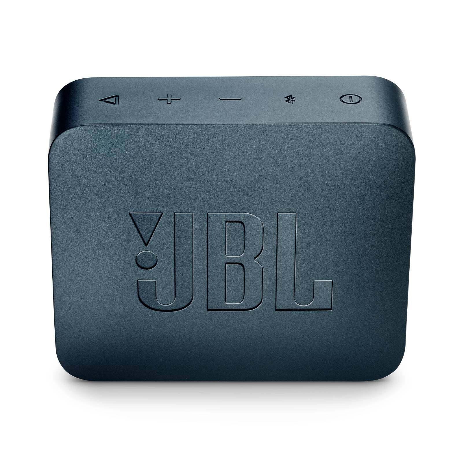 JBL GO 2 Portable Bluetooth Speaker with 5 Hours of Playtime, Waterproof