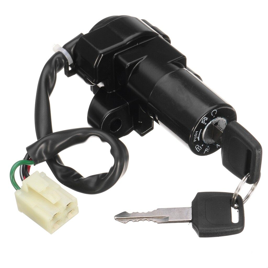 Tyres & Wheels - Ignition Key Switch For Suzuki GSF RF400 GSX 600 750 900 1100 GSXR 750 1100 GS - Car Replacement Parts