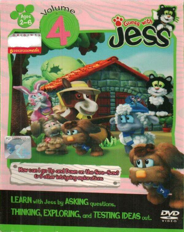 Guess With Jess Vol.4 DVD Asking Thinking Exploring Testing Ideas
